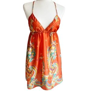 BLOOM Silky Open Back Dress